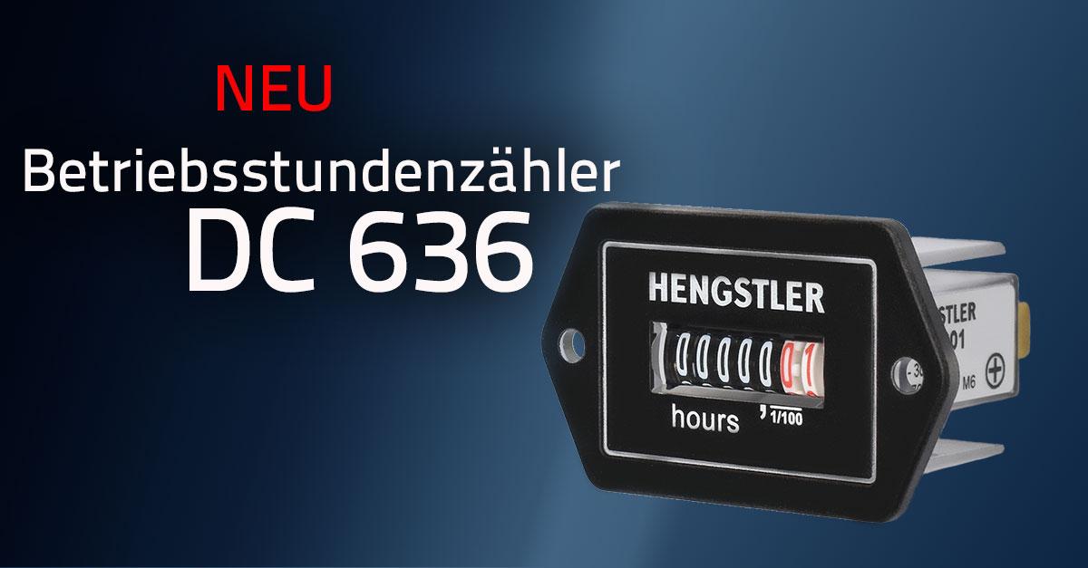 Betriebsstundenzähler DC 636