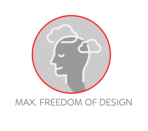 Freedom of Design